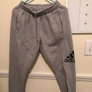 Adidas joggers with pockets